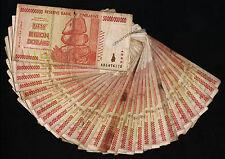 50 Billion Zimbabwe Dollars x 30 Banknotes Bundle AA AB 2008 *Damaged Condition*