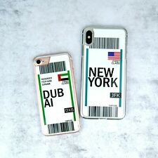 FC Travel Ticket Tag Boarding Pass Phone Case/Cover For iPhone Samsung Galaxy UK