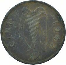 1942 ONE PENNY EIRE / IRELAND      #WT17222