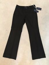 NWT NYDJ Not Your Daughters Jeans MICHELLE MOLASSES TROUSER Pants $110 Size 4P