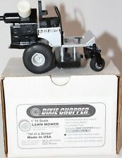 1/16 SCALE DIXIE CHOPPER DIECAST LAWN MOWER SERIES 1-DECK JET ENGINE Made in USA
