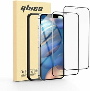 Compatible with iPhone 12 Pro Screen Protector and iPhone 12 Full Framed Tempere