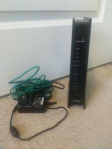 Centurylink Zyxel C3000Z DSL 300 Mbps Wireless Modem Router w cords