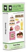 SWEET SHOP Cartridge for Cricut Machine ~ Food Candy Cake Cupcake Signs NEW