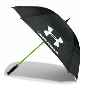 "Umbrella Mens Under Armour UA 68"" Double Canopy Rain Large Golf Umbrellas 2021"