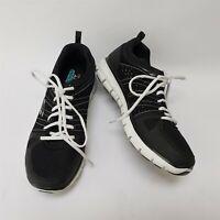 Skechers Womens Shoes Sneakers Memory Foam Black White Lace Size US 7.5 EU 37.5