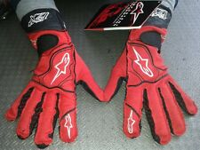 GUANTI AUTO OMOLOGATI ALPINESTARS TECH XXL RACING GLOVES RALLY FIA RED GUANTES