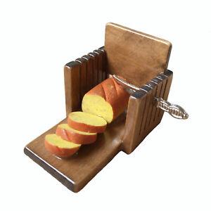 Miniature Kitchen Toast Bread Slicer Slice Machine 1:6 Dollhouse Accessories