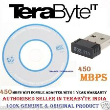 450 MBPS Mini Wireless USB ADAPTOR, 2.4 GHz,WiFi USB Adapter Wifi Dongle for PC