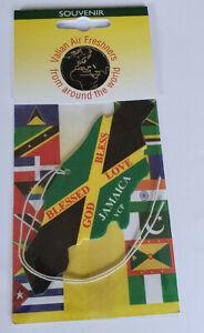 Jamaica map car Air Freshener