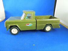 Vintage Mid Century Structo Lkws Spielzeug Lkw Olivgrün Pickup-Truck