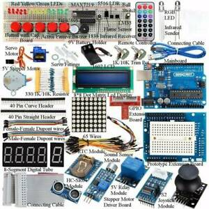 Upgraded Version Learning Starter Kit Set for Arduino UNO R3 Learning Suite
