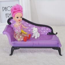 Enfants bébé fille princesse Dreamhouse Canapé Meubles Jouets pour Poupée Barbie KS