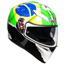 AGV K3 SV FRANCO MORBIDELLI #21 REPLICA BRAZIL MOTORCYCLE HELMET SIZE S MS ML L