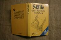 Fachbuch Tierställe, Stallbau, Kaninchen, Taube, Hühner, Selbstbau, DDR 1988