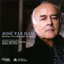 José van Dam, Jose v - Recital at la Monnaie / de Munt [New CD]