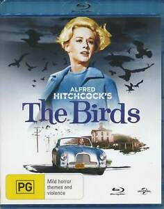 Alfred Hitchcock THE BIRDS (1963) Blu-ray Tippi Hedren Rod Taylor