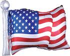 "Patriotic Balloons American Flag Balloon 22"" x 27""             '"