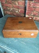 Vintage Small Wooden Pine Box