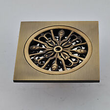 Antique Brass Square Floor Drain