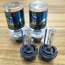 2pcs D4S D4R HID Xenon Bulbs Replace Stock Headlight 8000K Ice Blue