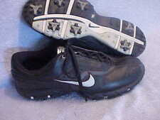Mens Nike Tac Golf Black Shoes Size 10 Lw