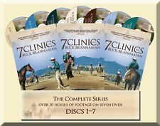 7 Clinics with Buck Brannaman 1-7 Complete DVD Series Set -  BRAND NEW ORIGINAL