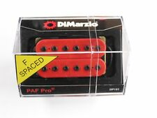 DiMarzio F-spaced PAF Pro Humbucker Red DP 151