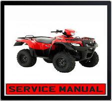 SUZUKI KING QUAD LTA750 (X) (P) 2007 ONWARD ATV BIKE REPAIR SERVICE MANUAL DVD