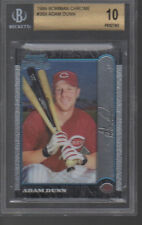 ADAM DUNN 1999 BOWMAN CHROME #369 BGS 10.0 RC ROOKIE PRISTINE