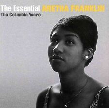 ARETHA FRANKLIN (2 CD) ESSENTIAL : THE COLUMBIA YEARS ~ GREATEST HITS BEST *NEW*
