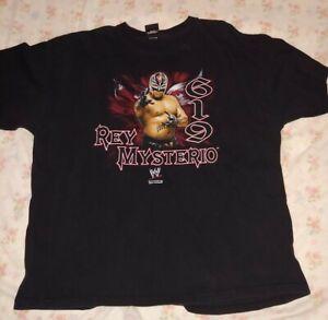 2007 WWE Rey Mysterio 619 Black XL T-Shirt