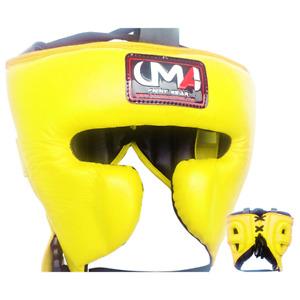 UMA R9  Fight Sports Men&WomenTraining Cheek Protection Boxing HeadGear Muay MMA