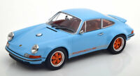 Singer Porsche 911 Coupe hellblau orange  1:18 KK Scale 180441 Limited Edition