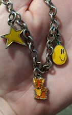 Neopets Orange Kougra Charm Bracelet