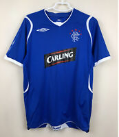 FC RANGERS 20082009 HOME FOOTBALL JERSEY CAMISETA SOCCER THE GERS SHIRT VINTAGE