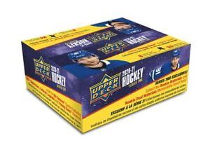 1x - 2020-21 UPPER DECK SERIES 2 HOCKEY RETAIL BOX New SEALED Sealed Hockey Prod