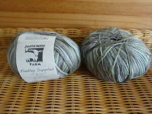 Juniper Moon Farm Findley Dappled Laceweight - Colour Frogs Back 104 180g