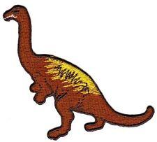 bc70 Braun Dinosaurier Dino Aufnäher Applikation Bügelbild Kinder Baby Flicken