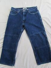 Levi's Work Wear Carpenter Style Dark Denim Work Jeans Measure 38x27.5
