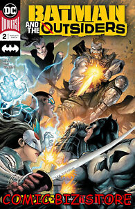 BATMAN AND THE OUTSIDERS #2 (2019) 1ST PRINTING KIRKHAM MAIN COVER DC UNIVERSE