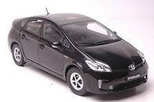 Toyota Prius Hybrid car model in scale 1:18 black