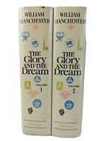THE GLORY AND THE DREAM by William Manchester 1974 Vol 1&2, 1st Book Club Ed.