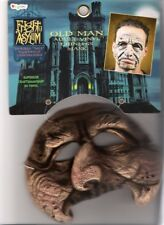 Collectible Disguise Halloween Fright Asylum Old Man Vinyl Chinless Mask New