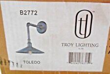 Troy Lighting B2772 Toledo Wall Sconce Old Silver NIB NEW
