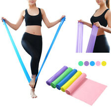 1.5/2M Fitness Band Belt Elastic Yoga Pilates Rubber Stretch Resistance Exercise