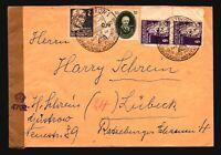 Germany DDR 1950 Censor Cover / British Censor / Nice Stamps - Z14849