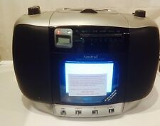 AMSTRAD CD-TV 50 portable tv retro Cd Player Radio & Black/TV  Vintage
