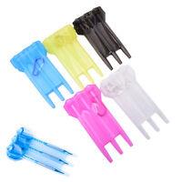 1pc plastic dart box case with locks portable darts accessories 5 colors B Ja