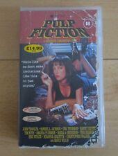 PULP FICTION VHS VIDEO TAPE QUENTIN TARANTINO CLASSIC VINTAGE MOVIE FILM